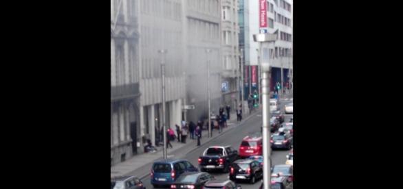 Miejsce zamachu w Brukseli, Belgia