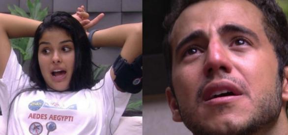 Munik e Matheus - Foto/Reprodução: Globo