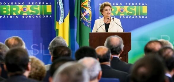 Presidenta Dilma Rousseff critica Sérgio Moro