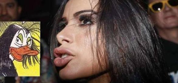 # Anita Bico de Pato, magoou a pop star