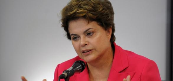 Dilma Rousseff em entrevista coletiva