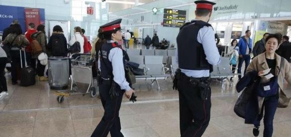 Fuerzas de Seguridad en objetivos terroristas