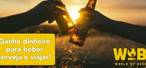 Ganhe dinheiro para beber cerveja e viajar.