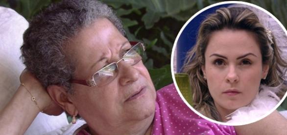 Geralda está com saudades de Ana Paula
