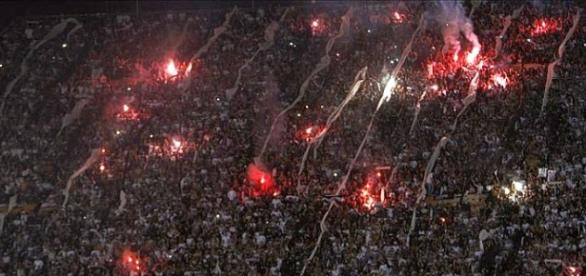 La hinchada del Corinthians de Brasil ocupa el puesto Nº13