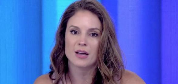 Maíra Charken no Vídeo Show - Foto/Reprodução
