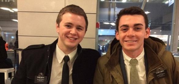 Mason (stânga) a supraviețuit la trei atentate Foto Facebook