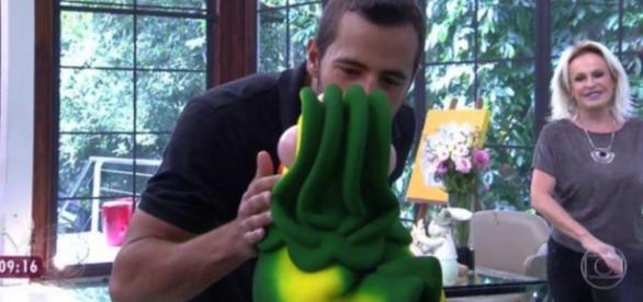 Matheus no 'Mais Você', da TV Globo