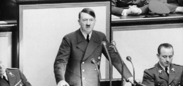 Real life Nazi Adolf Hitler (German federal archives)