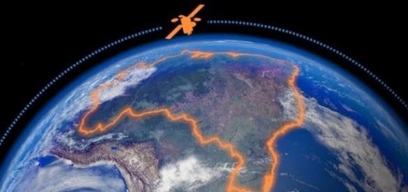 Satélite irá fornecer internet até para os índios