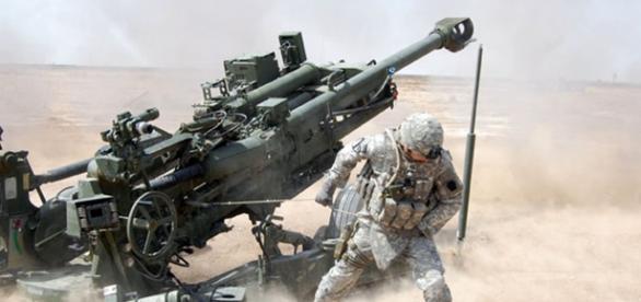 Artileria irakiană piesă de bază în atacul orașului Mosul