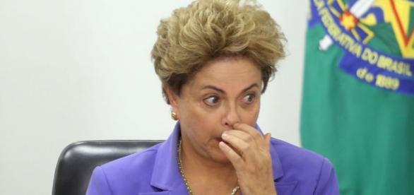 Dilma Rousseff buscando as últimas forças contra o impeachment.