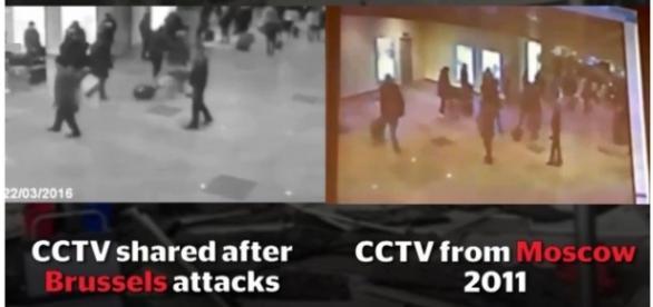 Imagen superpuesta de la comparación de los videos