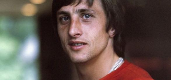 Johan Cruyff en Ajax. Vía Wikipedia.org