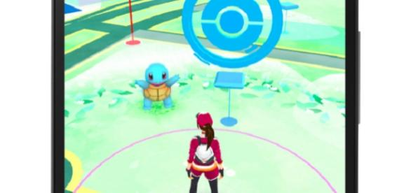 Posicionamiento global del usuario y el pokémon