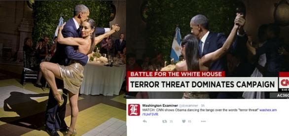 President Obama Dances Argentine Tango