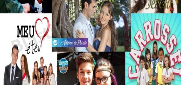 SBT coloca no ar 4 novelas inéditas e 3 repetições de sucesso