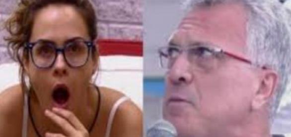 Ana Paula e Pedro Bial - Foto/Reprodução