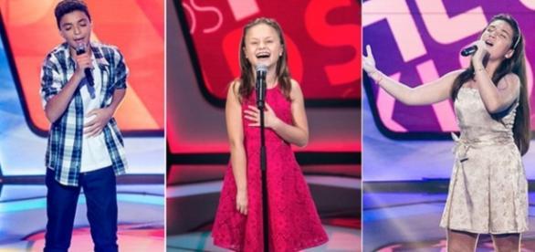 Candidatos da final do The Voice Kids