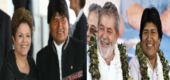 Evo quer unir países latinos de esquerda para ajudar Dilma e Lula