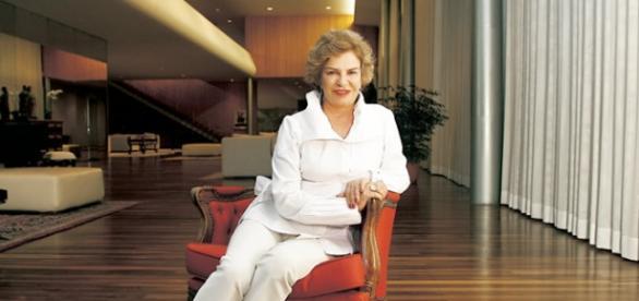 Marisa Letícia, mulher do ex-presidente Lula.