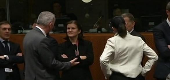 Ministros de la Unión Eropea en Bruselas