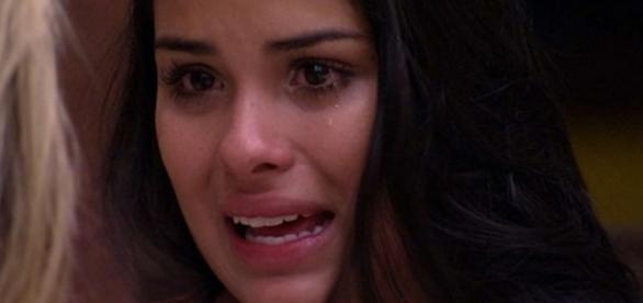 Munik chora no Big Brother Brasil