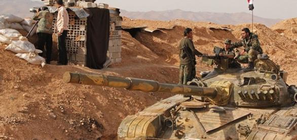 Presencia militar rusa en Siria.
