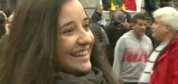 Raluca Dica, mărturie. Captură foto de pe Digi24