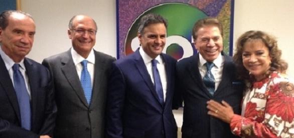 Silvio Santos disse que Lula é quem divide o Brasil.