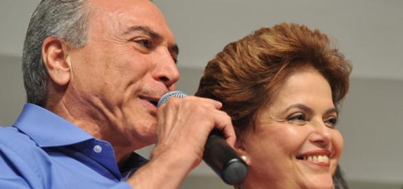 Temer e Dilma (Reprodução/Wikimedia)