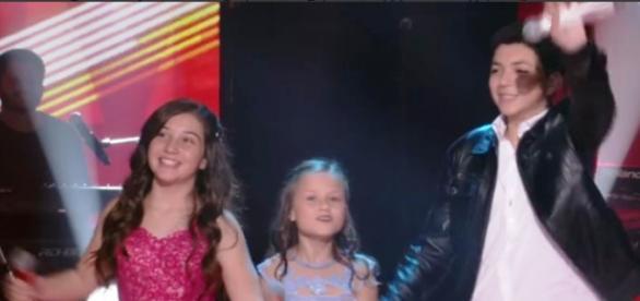 Finalistas do The Voice Kids (Reprodução/Globo)