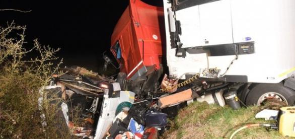 O acidente matou 12 emigrantes portugueses