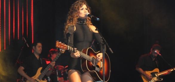 Paula Fernanda se apresentou em Lisboa nesta sexta-feira(25)