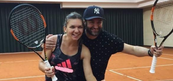 Relația dintre Simona Halep și Smiley
