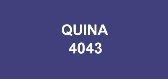 Sorteio Quina 4043 realizado nesse sábado (26).