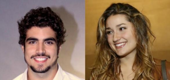Clima de romance: Caio Castro e Sasha podem estar namorando