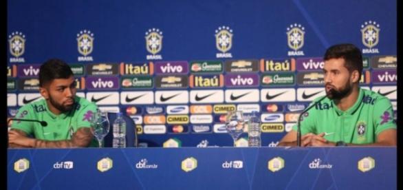 Gabigol e Felipe servirão a seleção pela 1ª vez