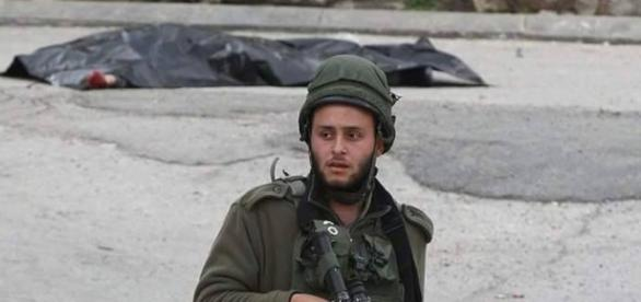 IDF Soldier who shot Palestinian Youth in Hebron, March 24th.
