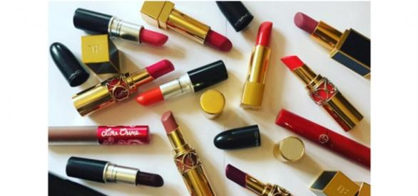 Lipstick collection: Tom Ford, Chanel, YSL, Giorgio Armani & M.A.C