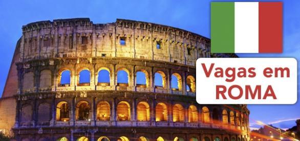 Vagas em Roma - Foto: Reprodução Egali