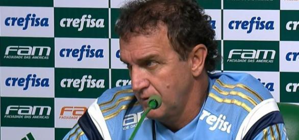 Cuca, técnico do Palmeiras, pediu o primeiro reforço para Mattos.