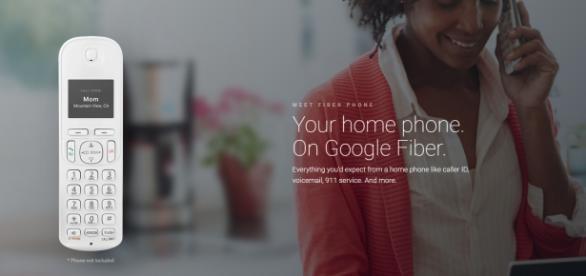 Fiber Phone, un teléfono fijo más moderno fabricado por Google