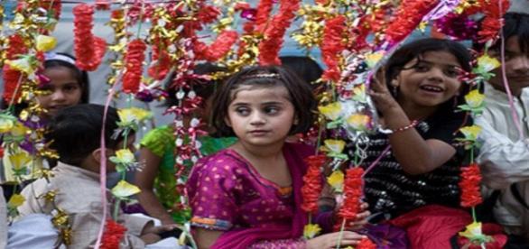 Imagen de niños en Pakistán. Flickr