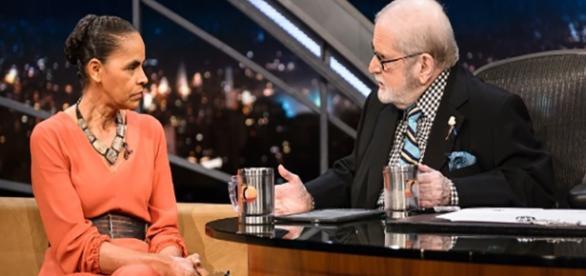 Marina foi a entrevistada do Programa do Jô
