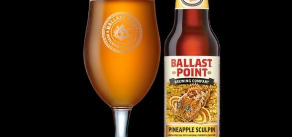 Nova Ballast Point - IPA com Abacaxi