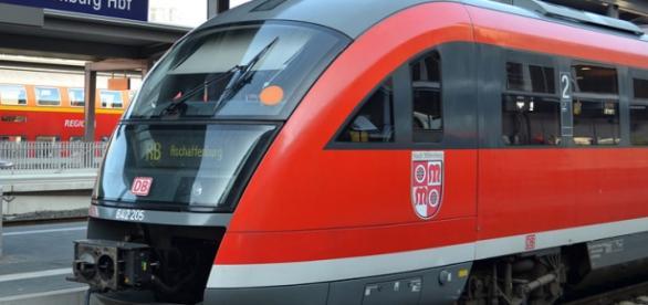 Tren al unui operator feroviar din Germania