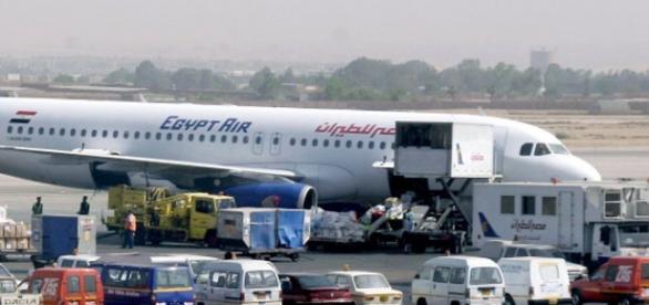 Un avión de la compañía EgyptAir