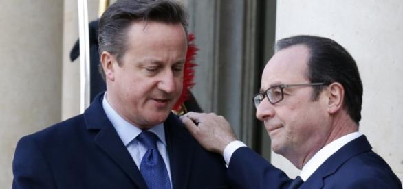 David Cameron și Francois Hollande