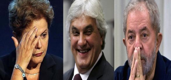 Delcídio cita nome de Dilma e Lula em depoimento